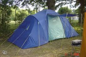 tente 2 chambres toile de tente marechal bleue 6 places