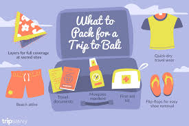 Travel List images Bali packing list bring these essential items png
