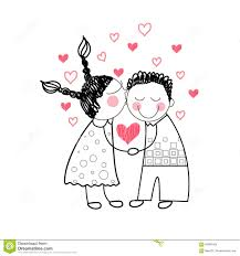 pictures couples love simple drawings in cartoon drawing art