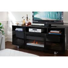 amazon black friday tv stand tv stands wasatch inch highboy fireplace tv stand black by