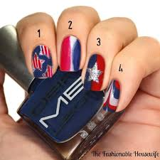 4th of july nail art tutorial from dermelect the fashionable