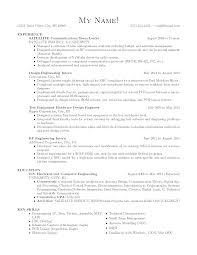Maintenance Engineer Resume Avionics System Engineer Sample Resume Haadyaooverbayresort Com
