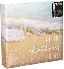 memo photo album hama 10 x 15 cm sea shells memo album for 200 photos blue