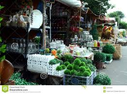 Selling Home Decor Variety Of Home Decoration And Ornaments Sold At A Store In