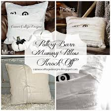 Knock Off Pottery Barn Furniture Cameo Cottage Designs My Pottery Barn Mummy Decorative Pillow