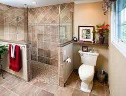 Small Bathroom Walk In Shower Doorless Walk In Shower Dynamicpeople Club