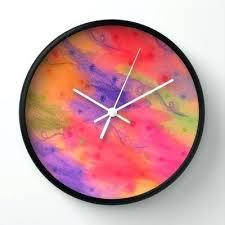 Feminine Clock - galaxy wall clock worldslargestcruisenight com