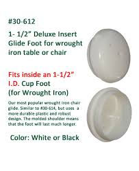 Patio Chair Glides Plastic And Glides For Patio Furniture Tables And Chairs