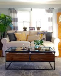decorating for fall living room furniture makeover memehill com