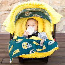 bay bay baby green bay packers baby car seat caboodle