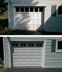 Overhead Door New Orleans Wood Recessed Panel Door Replaced With Clopay 4050 Raised