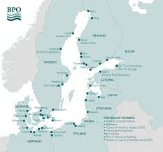 Baltic Sea Map Baltic Ports Organization About Bpo