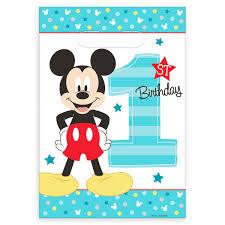 mickey mouse 1st birthday mickey mouse 1st birthday favor bags shopdisney