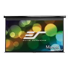 amazon com elite screens manual 80 inch 16 9 pull down