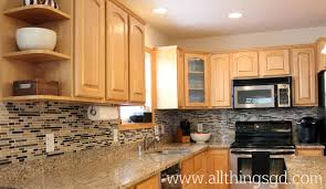 diy kitchen tile backsplash tile shop tuesday my kitchen backsplash reveal all things g d
