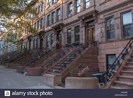 new york city ny usa street scenes historic townhouses row