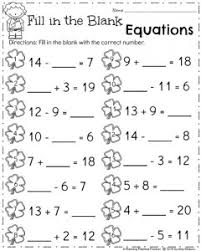 Ist Grade Math Worksheets March Grade Worksheets Planning Playtime
