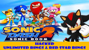 red star rings images How to cheats sonic dash 2 unlimited red star rings rings jpg