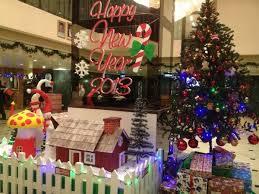 Happy New Year Decorations Mega Hotel Christmas And 2013 New Year Decorations