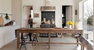 kitchen island or table is it an island or table both oversized with a work surface