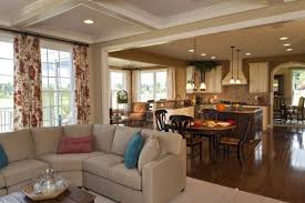 kitchen and family room ideas kitchen room contemporary 5 integrated kitchen dining room ideas