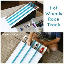 how to make a cardboard box race track for hot wheels cars cardboard box hot wheels race track