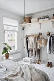 bedroom storage solutions for small rooms brown varnish wooden