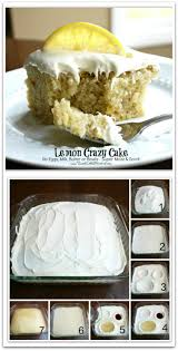 lemon crazy wacky cake depression cake and wacky cake