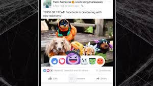 halloween changing background facebook u0027s adorable halloween reaction emoji are adding ghosts
