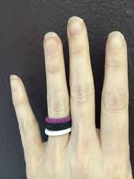 my wedding band silicone wedding rings by enso momma s bacon
