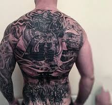 100 warrior tattoos for men battle ready design ideas
