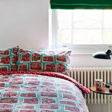 Cath Kidston Duvet Cover Sale Cath Kidston London Buses Duvet Cover And Pillowcase Set Double