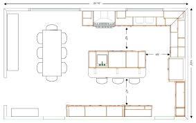 open kitchen floor plans plans island kitchen floor plans