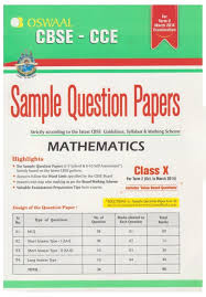 cbse cce mathematics sample question papers term 2 class 10