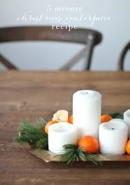 diy christmas centerpiece candlelight christmas dinner