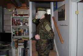 Gas Mask Costume Costume Gas Mask Militia Side By Thewarrises On Deviantart