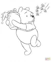printable winny pooh coloring pages preschoolers