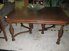 rockford furniture company 1900 dining room set table 6 chairs