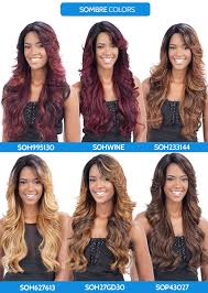 ambre blends hair freetress equal lace front wig deep invisible part mizzy