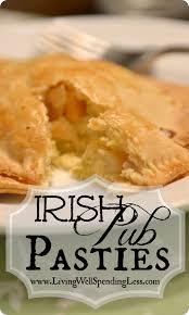 irish pub pasties cabbage pies great st patrick u0027s day recipe