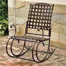 Patio Rocking Chairs Metal Top Quality Patio Rocking Chairs Patio Outdoor White Wicker
