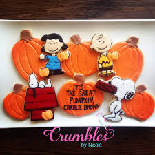 it u0027s the great pumpkin charlie brown cookie connection