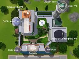castle green floor plan mod the sims the fairytale sky castle base on the
