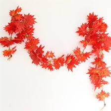 discount maple leaf garland wholesale 2017 maple leaf garland