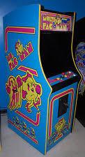 Ms Pacman Cabinet Collectible Ms Pacman Arcade Machines Ebay