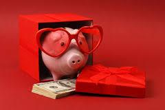 Heart Shaped Piggy Bank Heart Shaped Money Stock Images Image 3570394
