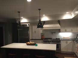 White Subway Tile Kitchen by My Kitchen Sherwin Williams Eider White Cabinets Black Fox