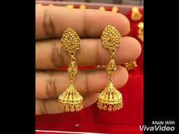 gold jhumka earrings gold jhumka earrings jhumki jhumka designs