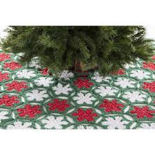 poinsettia tree premier poinsettia tree skirt free premier yarns