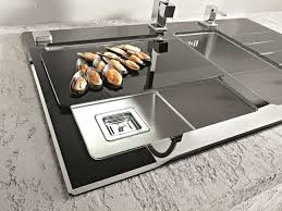 Best Our Sinks  Taps Images On Pinterest Taps Kitchen Sinks - Black glass kitchen sink